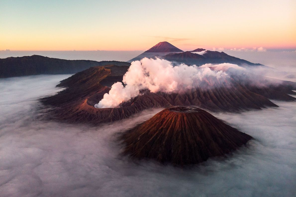 Above the Volcanoes
