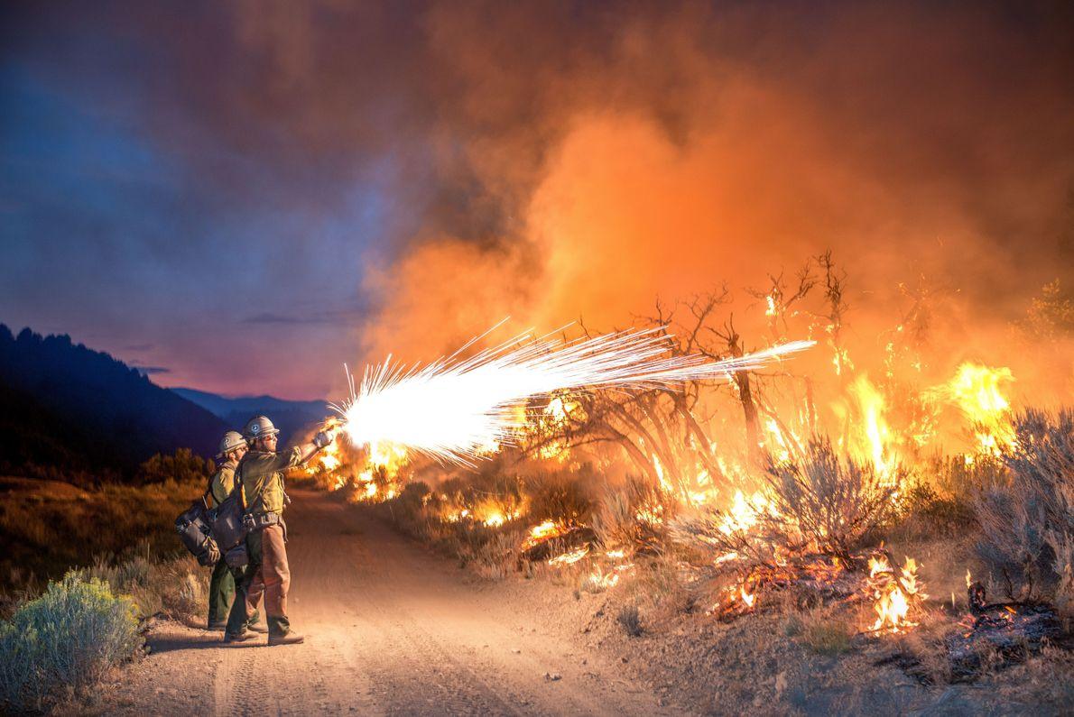 Combattre le feu par le feu