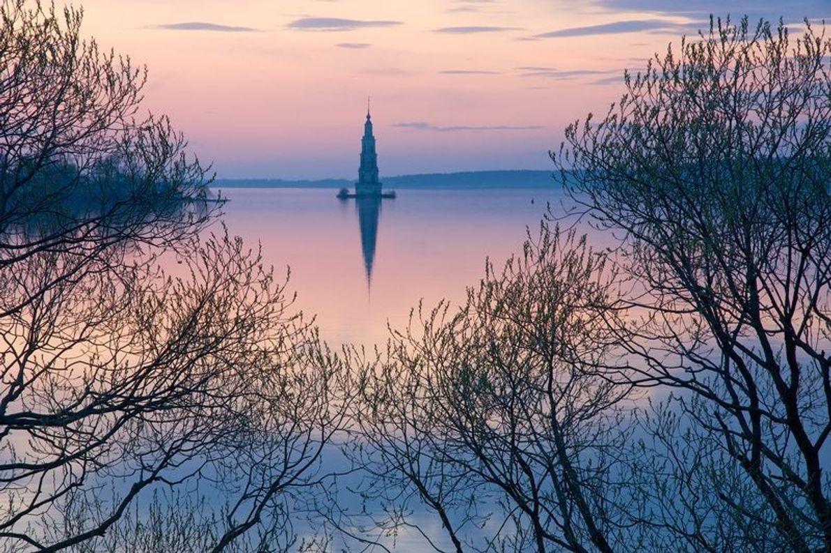 La ville de Kaliazine sur la Volga, Russie. Kaliazine est devenue une ville en 1775. Avant ...