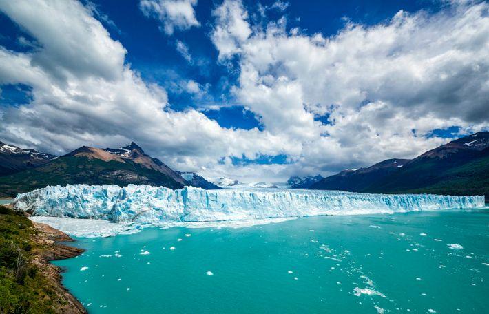 Perito Moreno Glacier en Patagonie, Argentine.