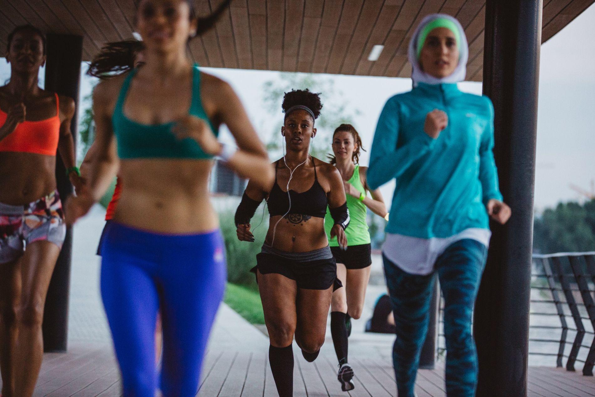 Lors de course sur de longue distance, type ultramarathon de plus de 100 km, les femmes ...