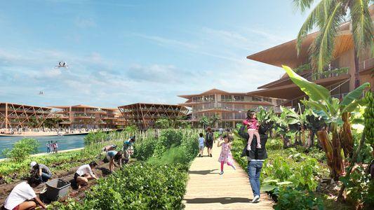 Les villes flottantes pourraient atténuer la crise mondiale du logement