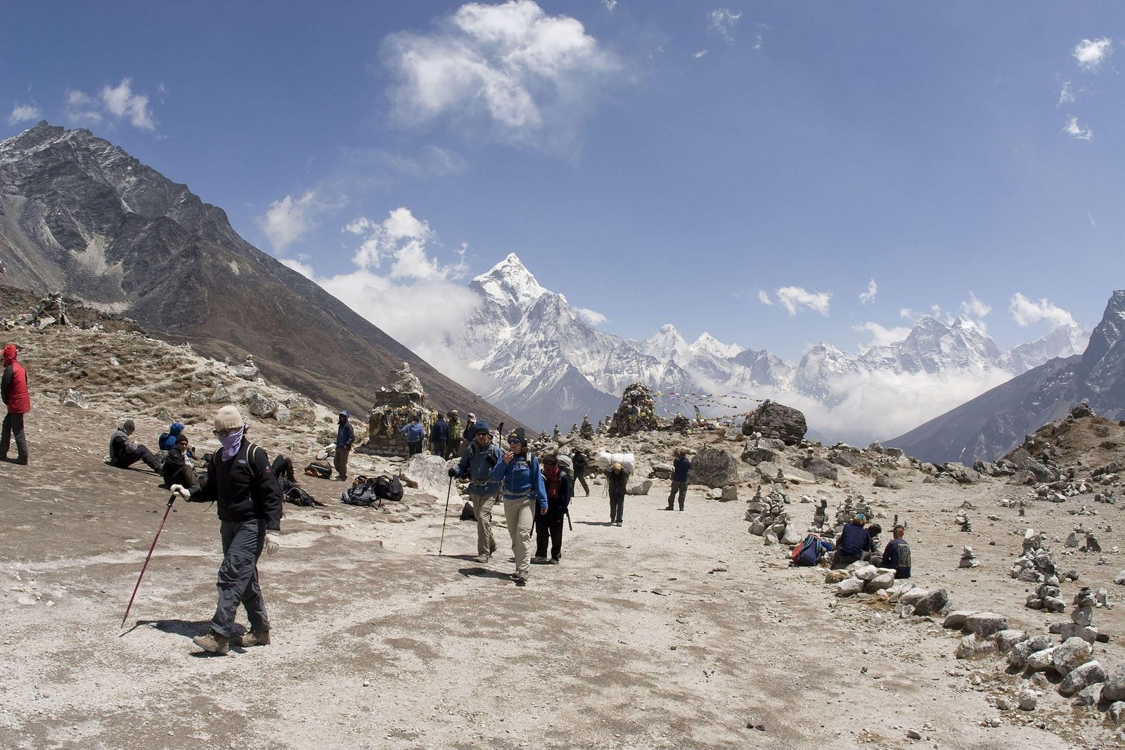 La grippe, nouvelle menace sur l'Everest