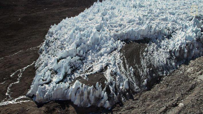 Survoler les glaciers chiliens