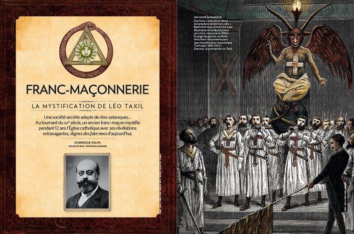 Franc-maçonnerie : la mystification de Léo Taxil