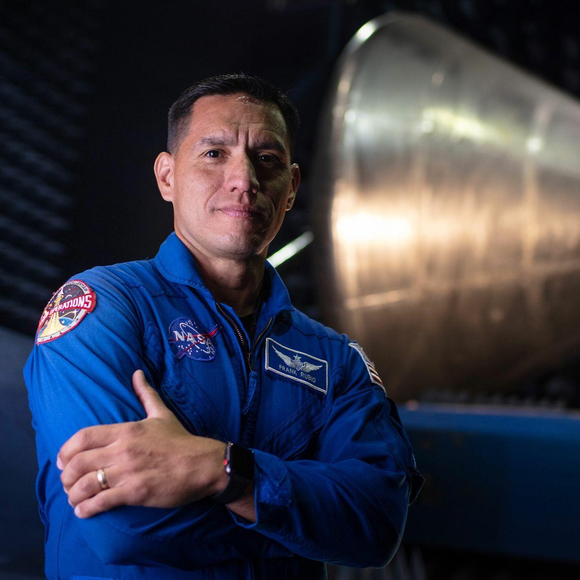 Frank Rubio - promotion d'astronautes 2017.