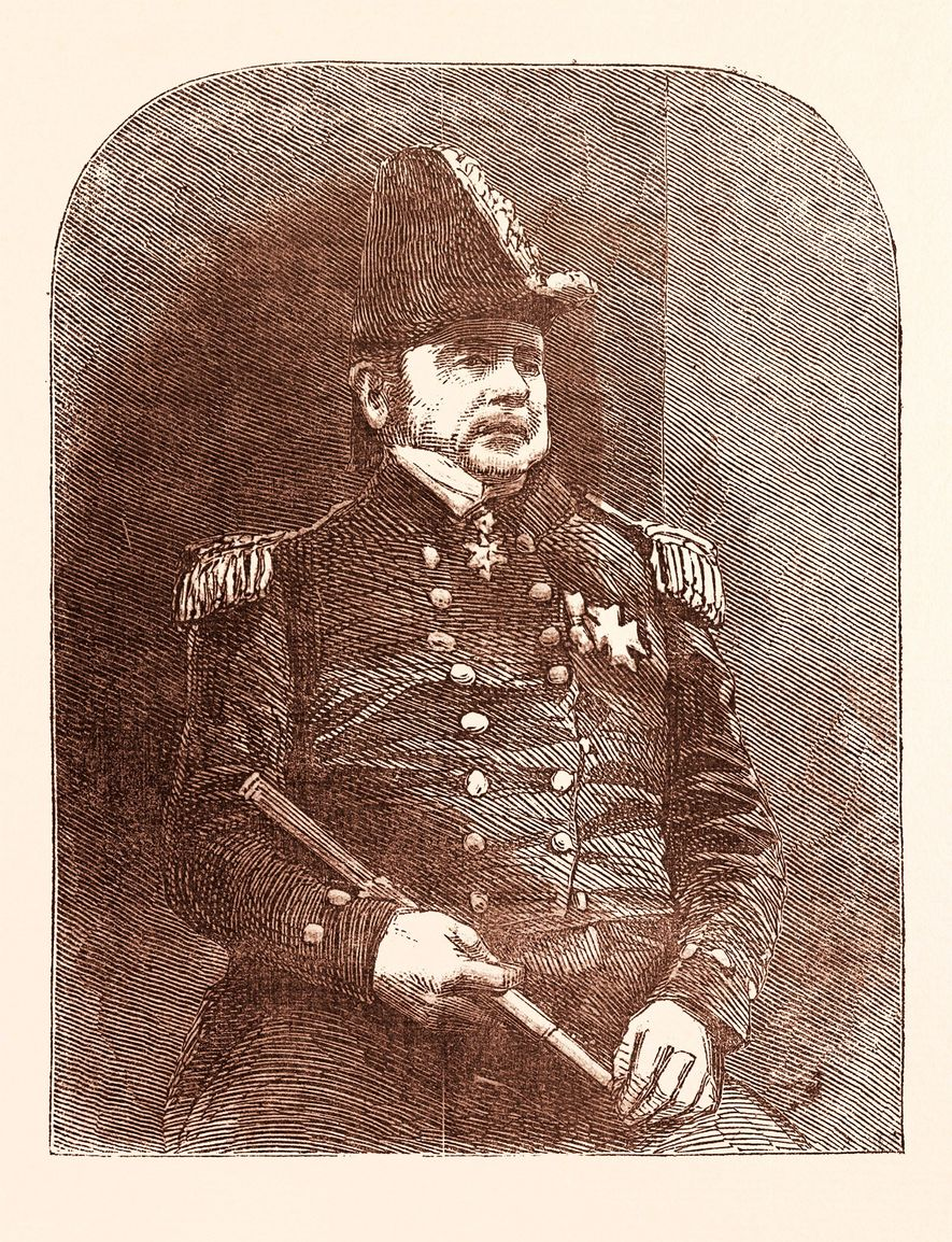 L'expédition maudite était menée par un héros britannique et explorateur arctique, Sir John Franklin.