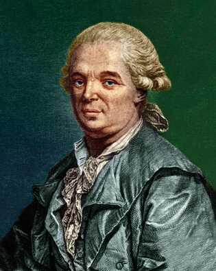 Gravure du 18e siècle de Franz Anton Mesmer, le médecin allemand qui théorisa le mesmérisme.