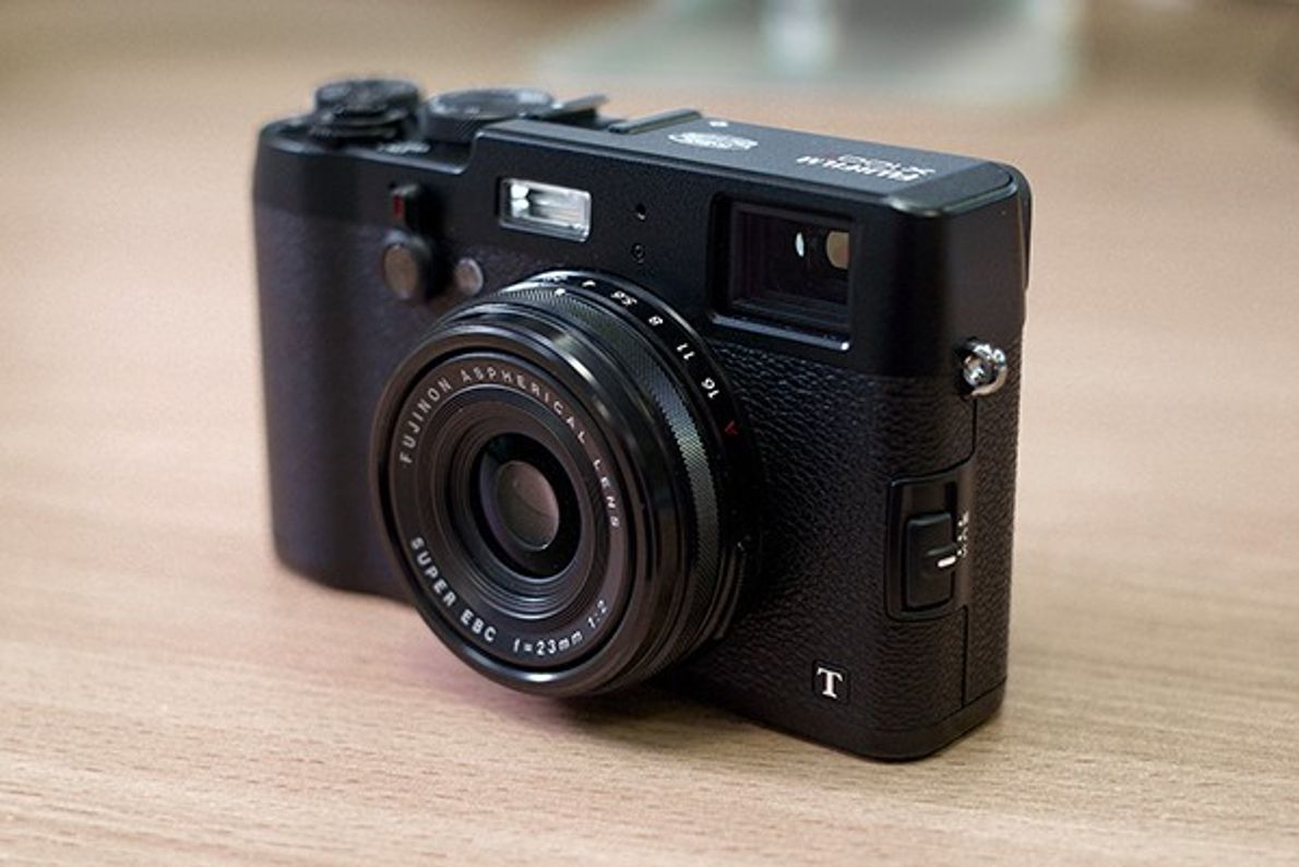 Photo du Fuji x100t camera compact