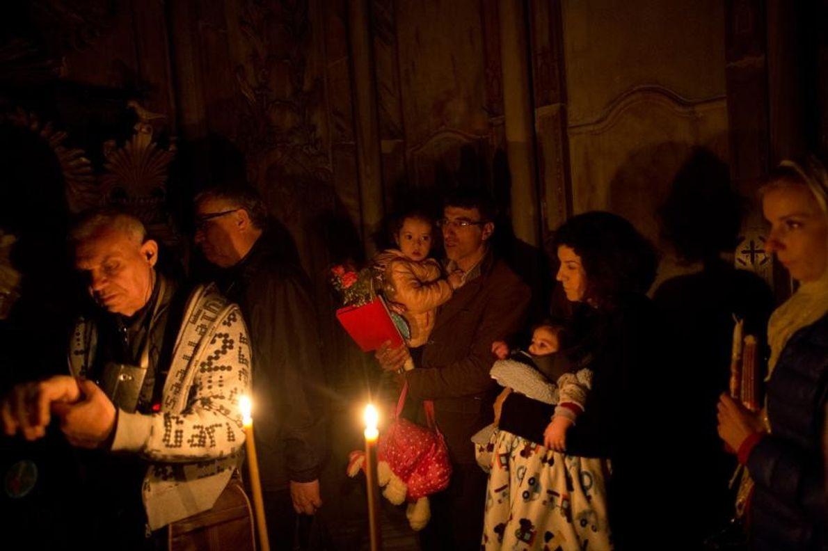 Le tombeau de Jésus est considéré comme le lieu le plus saint par les fidèles chrétiens.