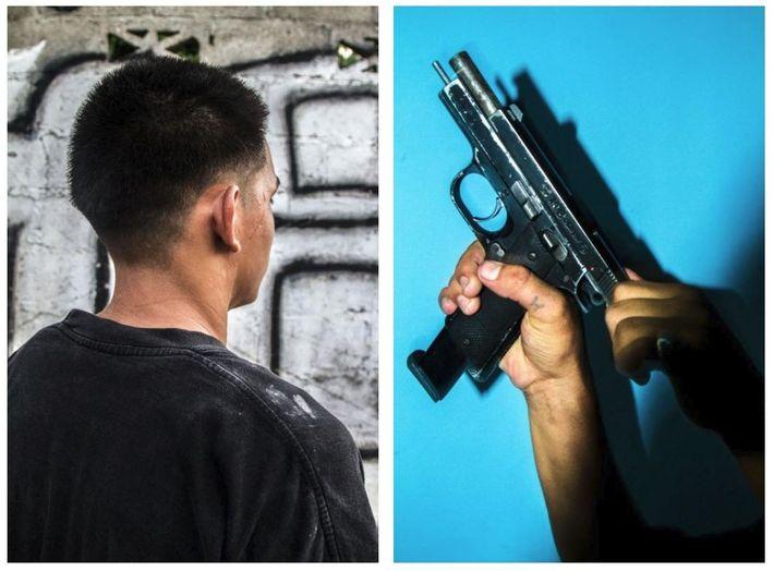 """""""Lorsqu'il était enfant, un policier a pris Lucio pour un indic et l'a frappé avec son ..."""