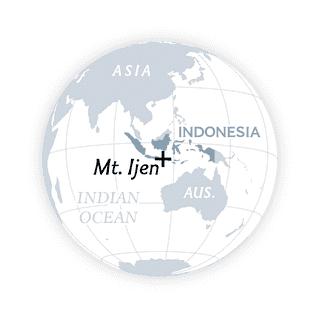 L'Indonésie compte 127 volcans actifs. Seuls les États-Unis (168) et la Russie (144) en ont plus.