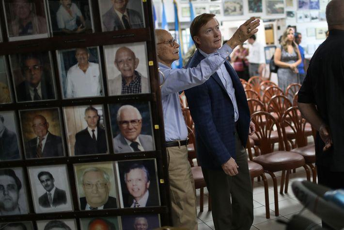 GOP Gubernatorial Candidate Adam Putnam Campaigns In Miami