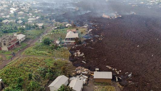 Le Nyiragongo, volcan le plus dangereux d'Afrique, est entré en éruption
