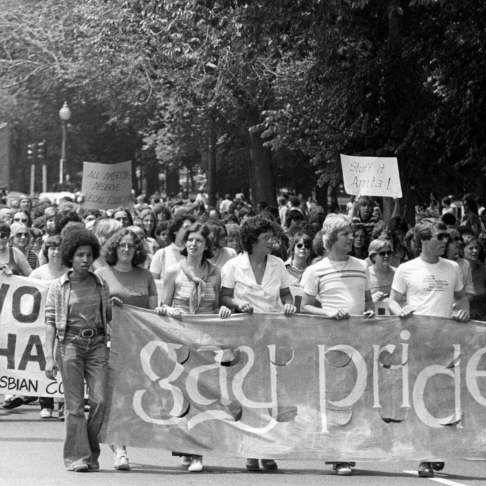 Gay And Lesbian Pride Parade