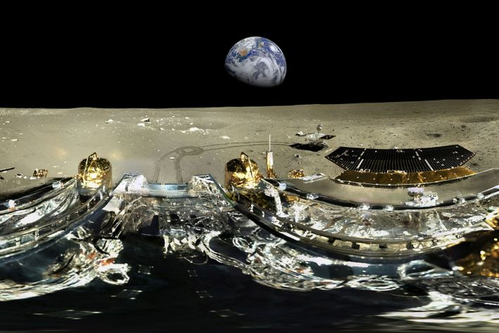 China's Moon rover