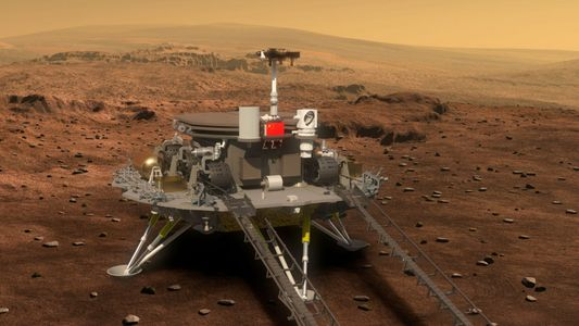 Mars : atterrissage réussi pour le rover chinois Zhurong