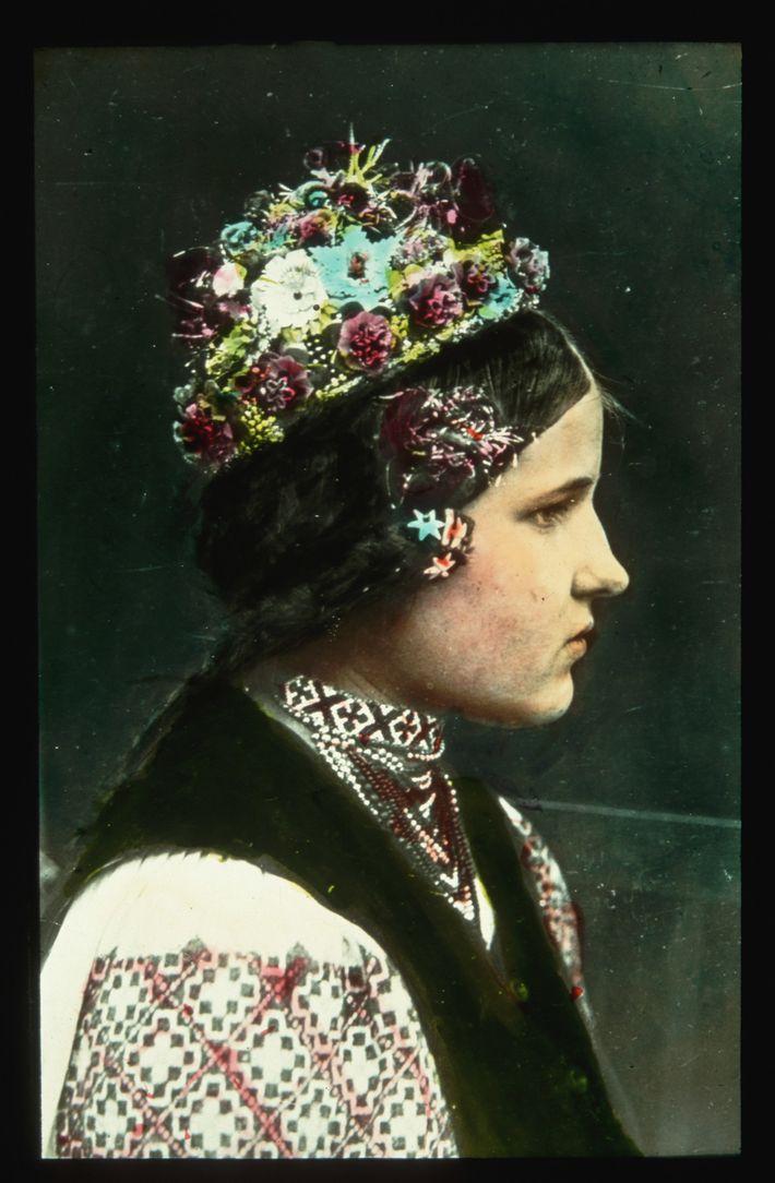En Ukraine subcarpatique, une région autonome au sein de la Tchécoslovaquie de 1938 à 1939, une ...