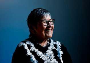 Portrait de Ginette Kolinka, rescapée du camp de la mort de Birkenau
