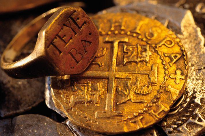 Did pirates bury treasure?