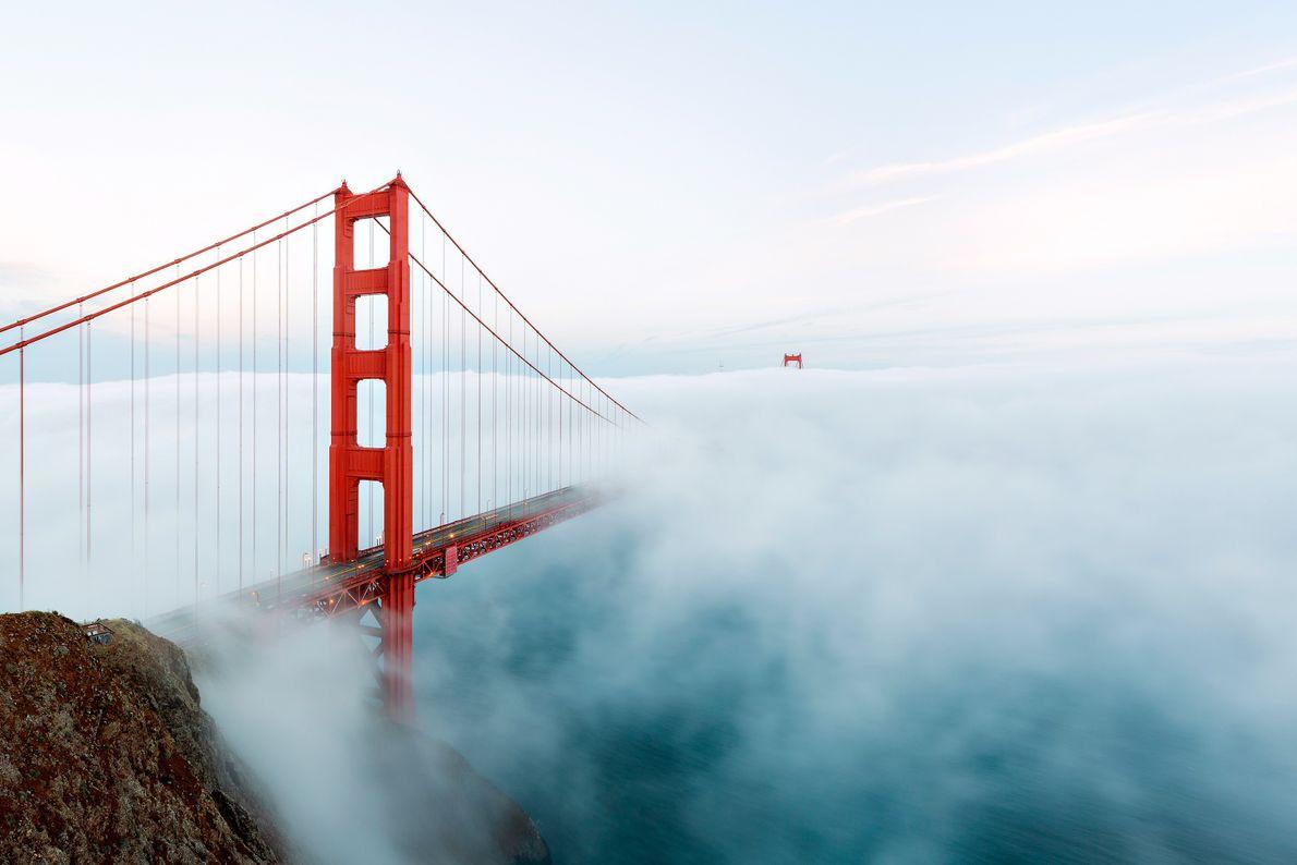 Chaque mois, ce sont plus de trois millions de véhicules qui traversent le Pont du Golden ...