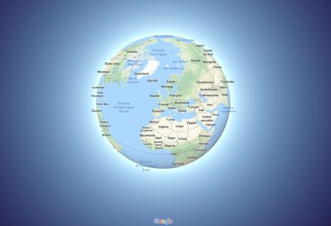 Carte Du Monde Realiste.Google Maps Passe Du Planisphere Au Globe Pour Une Vision Plus