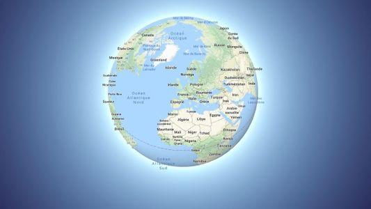 Google Maps passe du planisphère au globe, pour une vision plus réaliste de la Terre