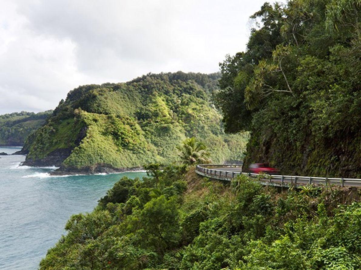 Sur la route d'Hana, Maui