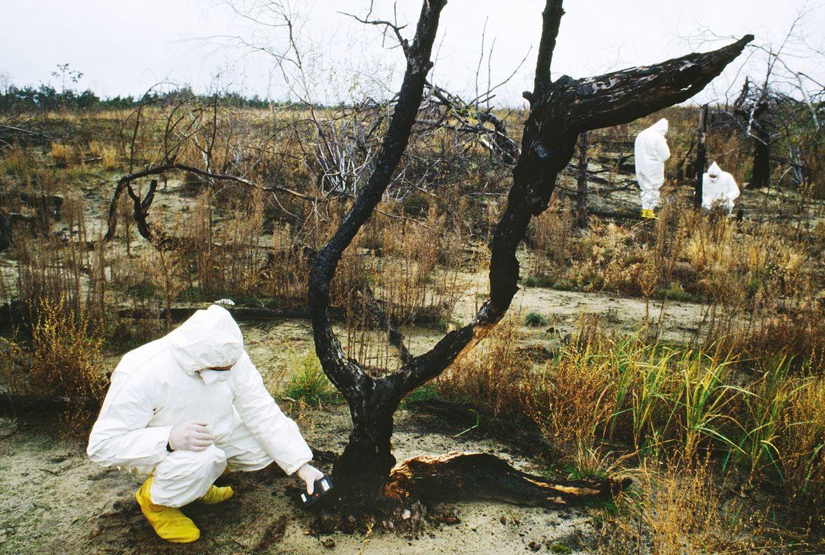 Zone d'exclusion de Tchernobyl -Site de l'une des plus grandes catastrophes nucléaires de l'Histoire, les quartiers ...