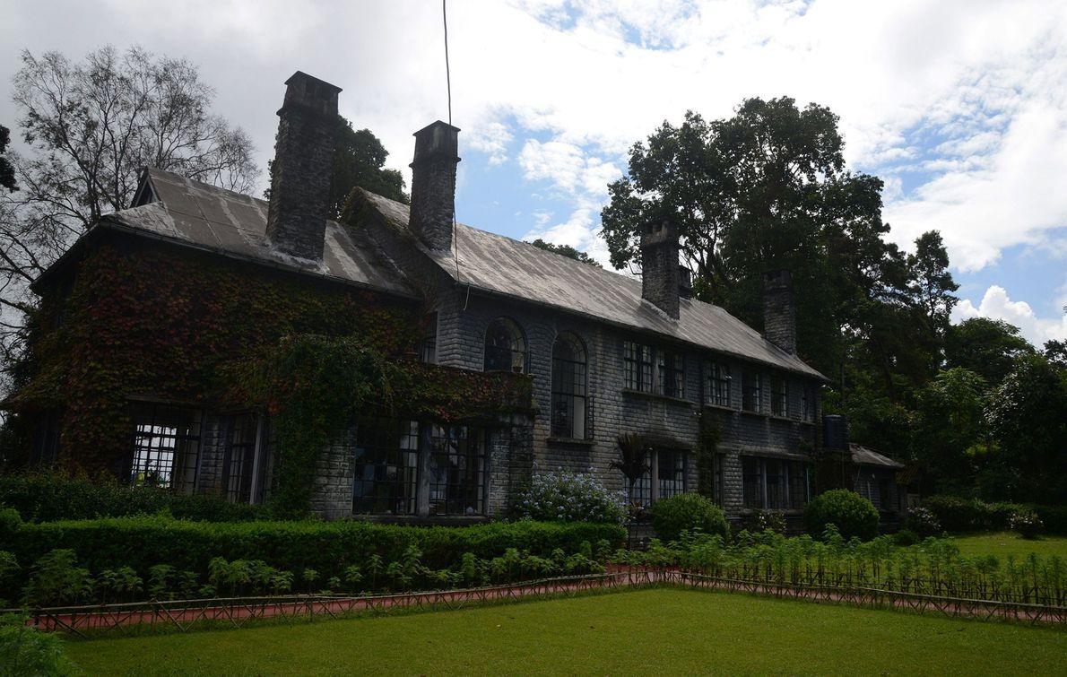 Morgan House, Inde -Prétendument hanté par le fantôme de l'ancienne dame de la maison, ce manoir ...
