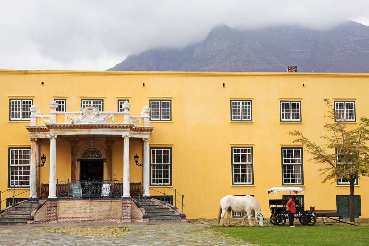 Fort de Bonne-Espérance, Afrique du Sud - Cette forteresse en forme de pentagone était autrefois le ...