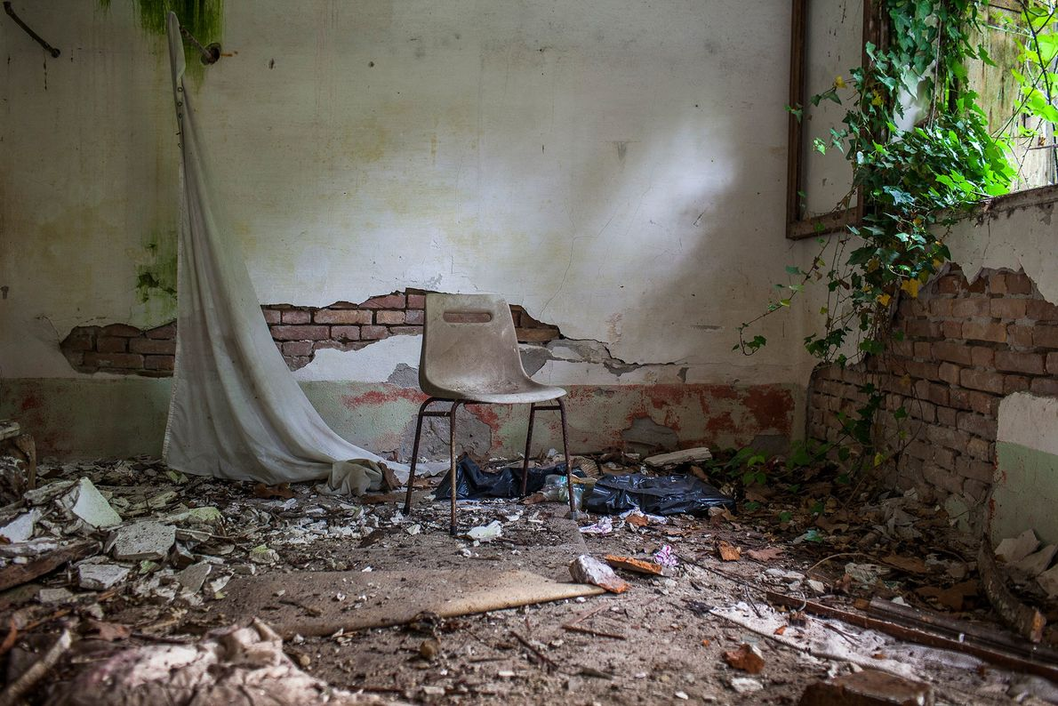 Poveglia, Italie -Utilisé pendant un siècle pour mettre en quarantaine les personnes atteintes de la lèpre ...