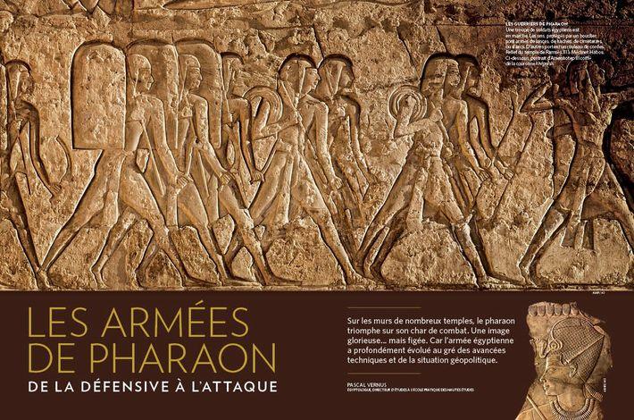 Les armées de pharaon, de la défense à l'attaque