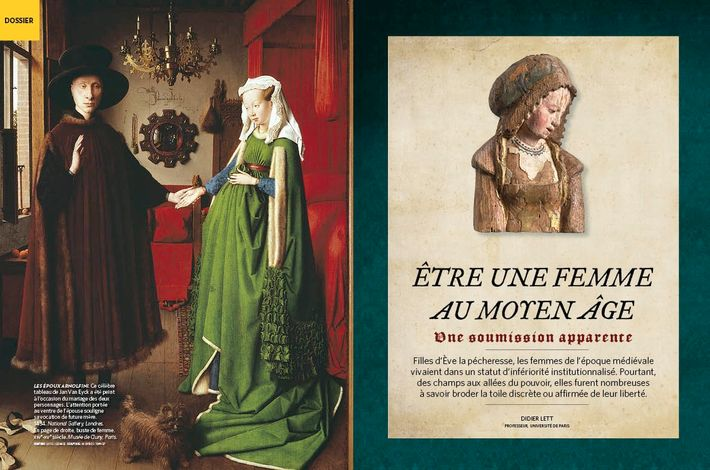 Être une femme au Moyen Âge, une soumission apparente