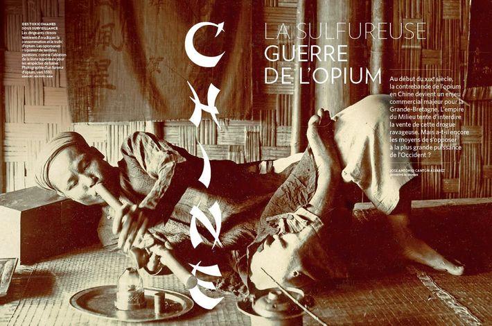 Chine : la sulfureuse guerre de l'opium