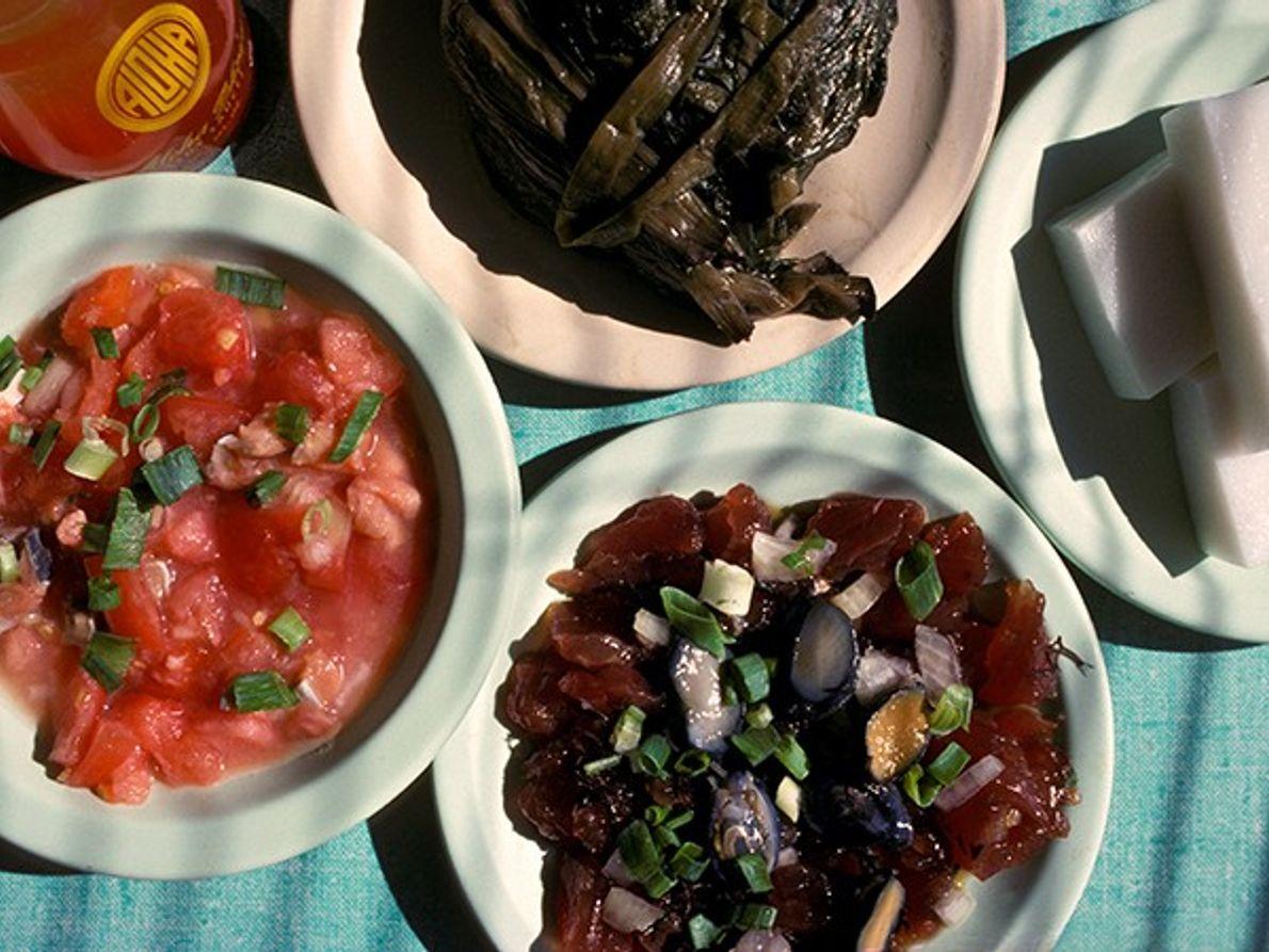 Cuisine hawaïenne authentique, Oahu