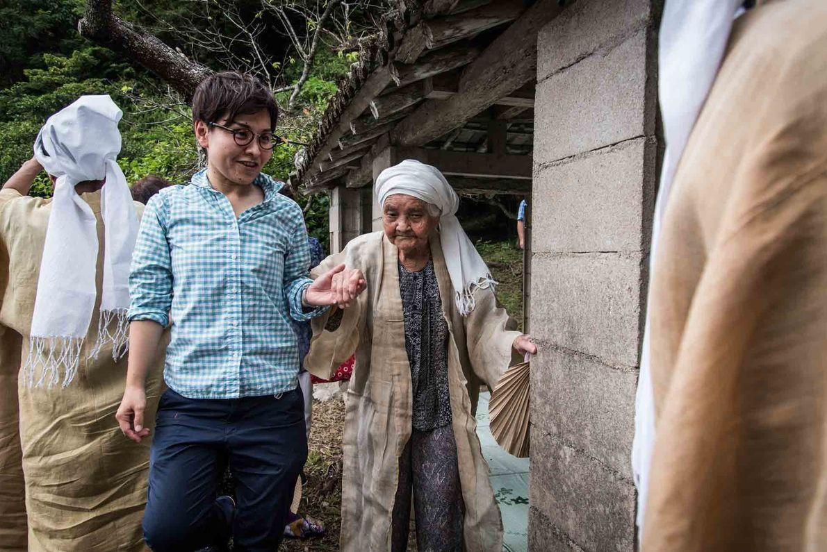 La forte concentration de centenaires d'Ogimi est remarquable même au Japon, où plus de 70 000 ...