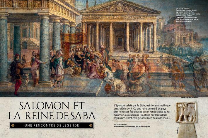 Salomon et la reine de Saba - une rencontre de légende