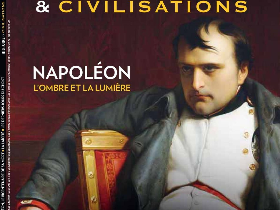 Sommaire du magazine Histoire et Civilisations - avril 2021