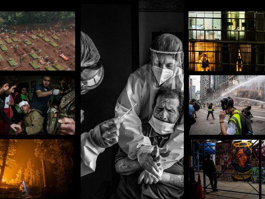 Les photos les plus marquantes de l'année 2020