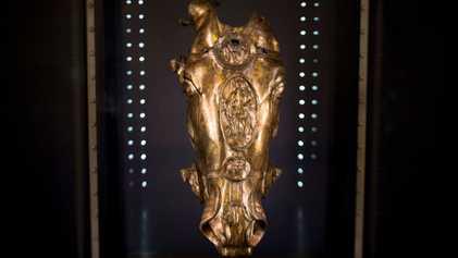 Antiquité : Une tête de cheval en or a été mise au jour en Allemagne
