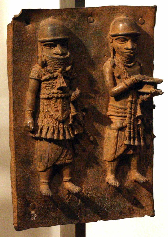 Moulés aux 16e et 17e siècles à partir de laiton et d'autres matériaux par des artistes de l'ancien ...