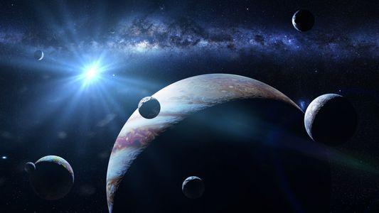 Le champ magnétique de Jupiter fragilise sa lune Europe