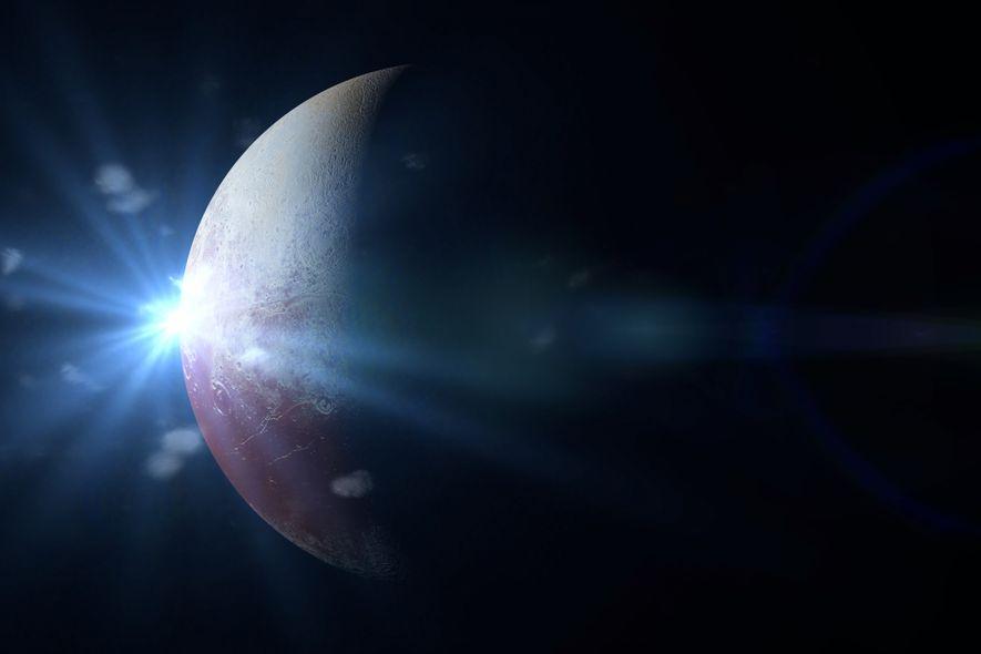 Un océan d'eau liquide se trouverait sous la surface glacée de Pluton