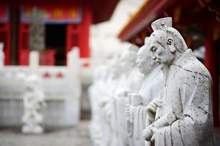 Temple de Confucius à Qufu - Confucius vit le jour à Qufu, où fut érigé le ...