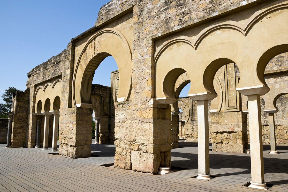 Ville Califale d'Espagne, Madinat al-Zahra constitue aujourd'hui les ruines de l'ancien palais calife des Omeyyades de ...