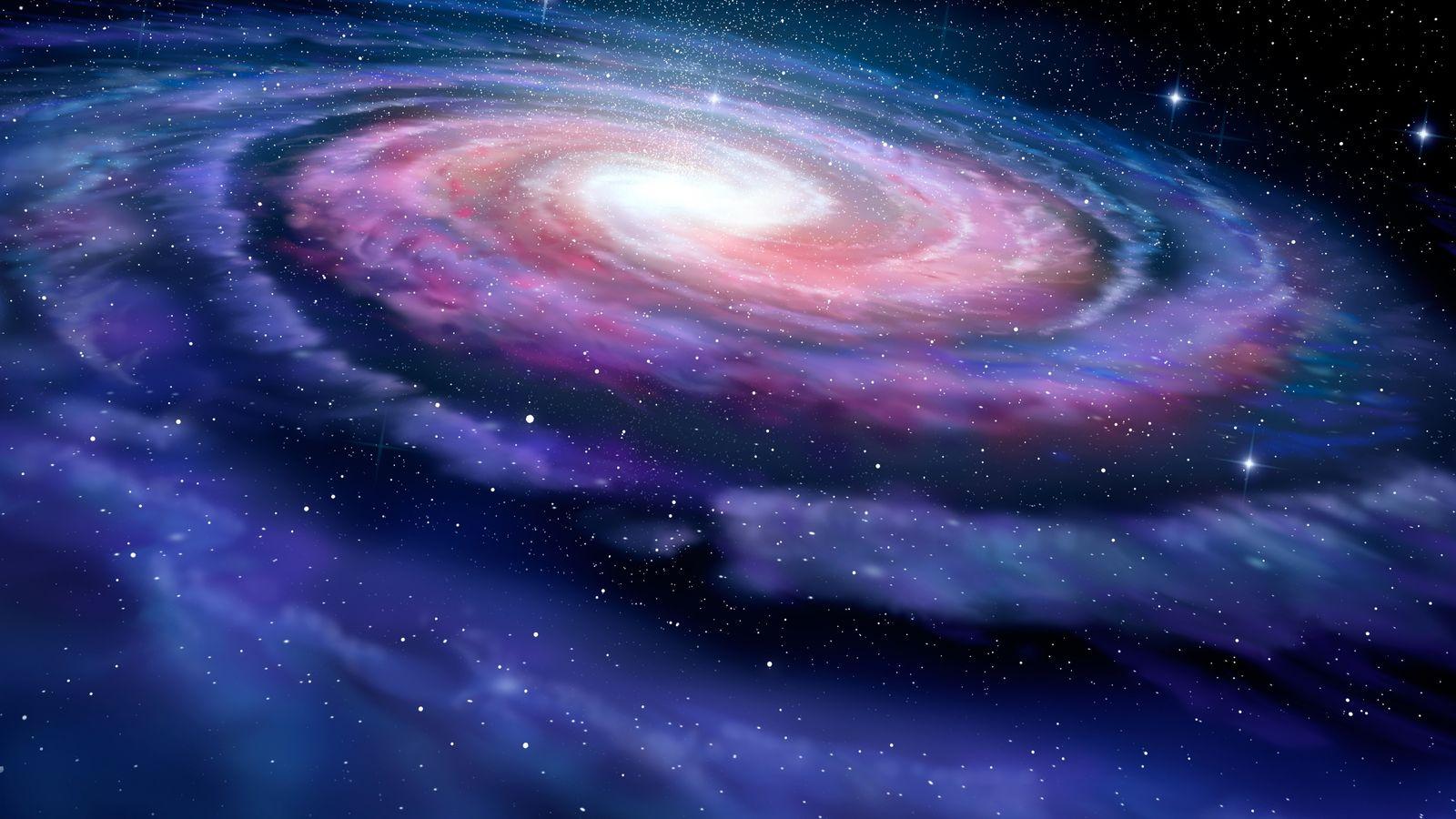 Illustration de la Voie Lactée.