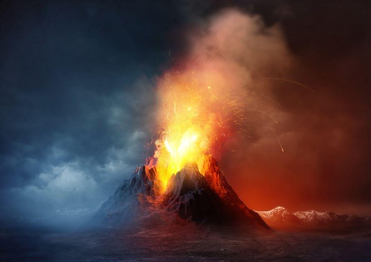Comment les premiers Hommes ont-ils survécu à l'éruption du super-volcan Toba il y a 74 000 ...