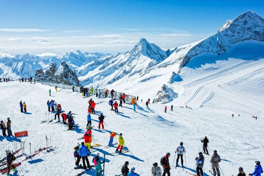 Le tourisme hivernal accélère la fonte des glaciers