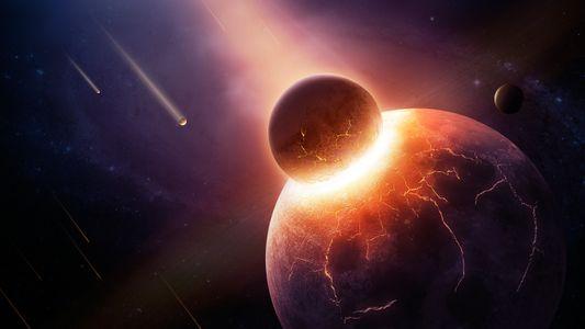 """Découverte : l'exoplanète Kepler 107c serait née d'une """"collision géante"""""""